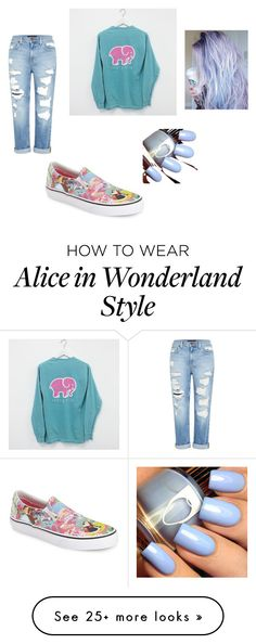 """""""Untitled #10"""" by universalnjh on Polyvore featuring Vans and Genetic Denim"""