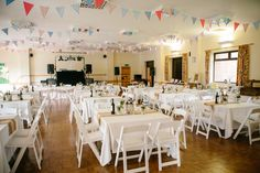 Carly and Joel�s Informal Rustic Village Hall Wedding. By Sarah Wayte Photography