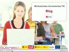 """Minitutorial """"Blog: Web 2.0 de artículos y comentarios"""" de educacontic.es"""