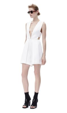 Pepper Playsuit White - Solace London