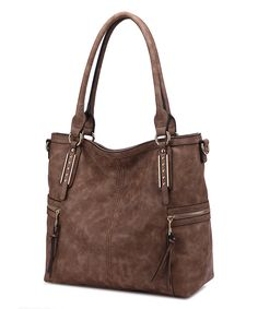 Look what I found on #zulily! Khaki Side-Pocket Tote by MKF Collection #zulilyfinds
