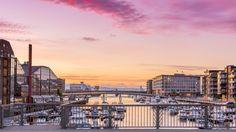 Trondheim sunset, Norway