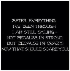 this is me but i dont think im crazy i just have crazy thoughts The Words, Creepypasta, Dont Be Normal, Me Quotes, Funny Quotes, Im Crazy Quotes, Dark Quotes, Gothic Quotes, Creepy Quotes