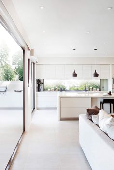 Love the window splash back and flooring