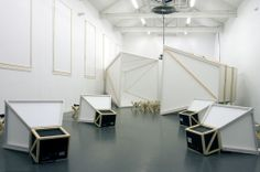 Scenography, exhibition design for TENT in Rotterdam, The Netherlands by OOZE