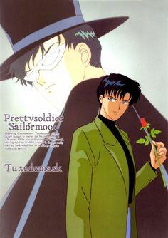 Toei Animation, Bishoujo Senshi Sailor Moon, Mamoru Chiba, Tuxedo Kamen