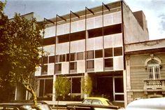 Colegio de México, Guanajuato 125, Roma Norte, Cuauhtémoc, México, DF 1961 (destruido)  Arq. Manuel Rosen Morrison -  Colegio de Mexico, Guanajuato 125, Roma Norte, Mexico City 1961 (destroyed)