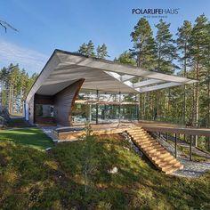 Reposting @plhdeluxe: Наши современные дома и коттеджи из бруса представляют собой архитектуру нового времени. Качественные деревянные дома в стиле модерн — это отличительная особенность завода PolarLifeHaus.  Получить консультацию  @plhdeluxe 〰 #Modern & #deluxe log homes from the heart of Finland  Contact me  @plhdeluxe  #awesome #luxury #loghome #amazing #design #architecture #it #nature #health  #домизбруса #деревянныйдом #финскийдом #здоровье #мечта #здоровье #природа #дом #дизайн