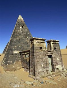Sudan's forgotten pyramids