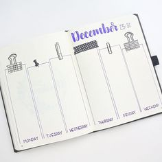 See my last post for the process video. . Here's my last bullet journal for 2017. I had to end the year with one of my most favorite layouts. The supplies I used are on my blog, link in bio. . . . . . . . . . . #bulletjournal #bujo #planner #planneraddict #plannergirl #plannerlove #papercraft #plannernerd #stationery #stationeryaddict #plannergeek #stamps #stamping #rubberstamp #handwritten #handlettered #brushlettering #papercrafting #crafter #crafting #crafty #artsandcrafts #studygram...