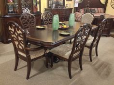 want this: ashley north shore dining room set | for the home