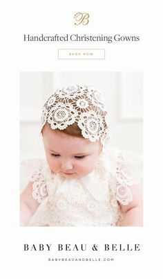 Make sure your sweet girl is stunning on her special day! With our exclusive range of full-length gowns, dresses and layettes, we've got your little princess stylishly covered. Christening Gowns For Girls, Baptism Gown, Baby Blessing Dress, Baby Dress, Cute Baby Girl Outfits, Lace Outfit, Poppies, Flower Girl Dresses, Baby Things