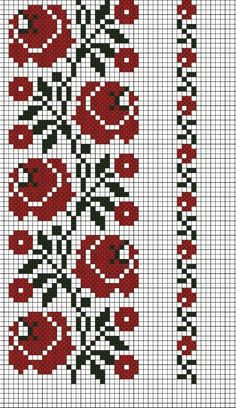 İsim: Görüntüleme: 2252 Büyüklük: … Name: Displayed times: 2252 Size: KB (Kilobyte) Beaded Cross Stitch, Cross Stitch Borders, Cross Stitch Flowers, Cross Stitch Charts, Cross Stitch Designs, Cross Stitching, Cross Stitch Embroidery, Embroidery Patterns, Cross Stitch Patterns