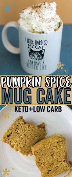 Pumpkin Mug Cake - K