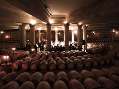 The holy grail of wine cellars.  Lafite Rothschild
