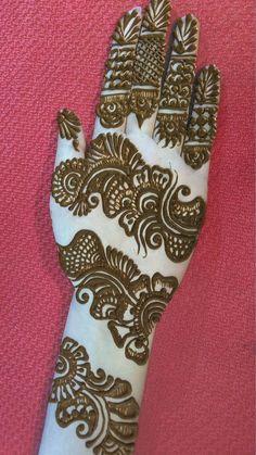 bel wali mehandi design