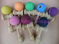 Rubber Painted Ball Kendama