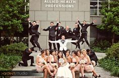 Love fun bridal party pictures, Credit: ArdentStudio