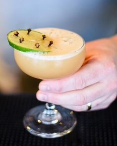 Our Spring Menu has sprung! Try the Hot Tropic a tangy cocktail made with our Spiced Rum pineapple habanero clove and lime.