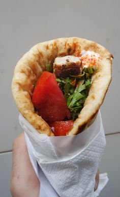 Greek souvlaki best street food in Athens
