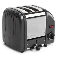 Dualit - Metallic Charcoal 2 Slice Toaster