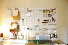 mission: get pegboard this weekend