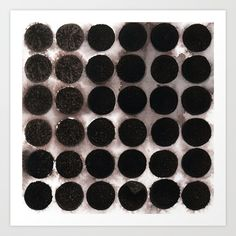 Watercolour Garnet Discs Art Print by christamccannsilver Buy Frames, Printing Process, Modern Decor, Garnet, Fashion Art, Watercolour, Abstract Art, Gallery Wall, Fine Art