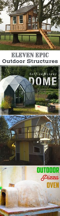 These authors went the extra mile when building their projects. From tiny homes to outdoor ovens, there's plenty of inspiration here to motivate you! #epicbuilds #epicplayhouse #selfsufficient
