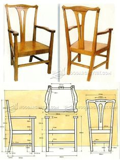 Carver Chair Plans - Furniture Plans and Projects | WoodArchivist.com