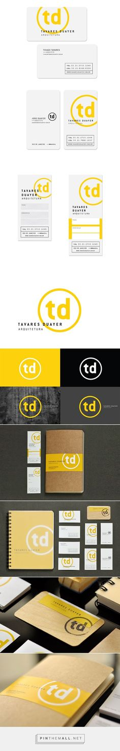 Tavares Duayer Arquitetura on Behance | Fivestar Branding – Design and Branding Agency & Inspiration Gallery