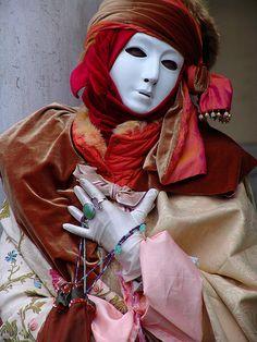 Carnevale a Venezia. Carnival to Venice, Carnaval de Venise by Batistini Gaston, via Flickr
