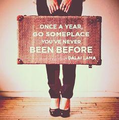 Wise quote travel Dalai Lama