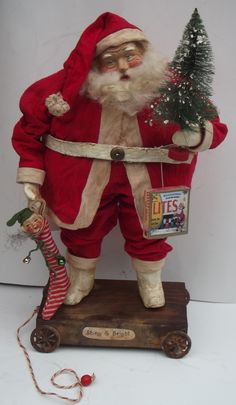 Santa Claus~HandMade Fabulous Santa made by Kim Sweet !