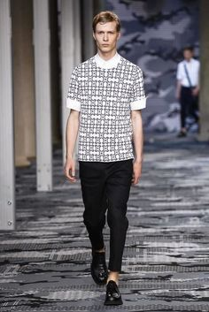 Neil Barrett Spring/Summer 2016 Menswear Collection | Milan Fashion Week