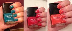 butter LONDON Nail Polish Swatches: Brights!