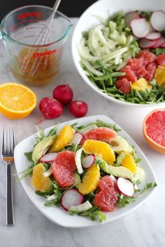 citrus fennel salad with grapefruit vinaigrette aip - Ina Garten Fennel Salad