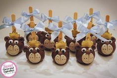 Sweet Cucas and Cupcakes by Rosângela Rolim: Pop Cakes Ursinhos