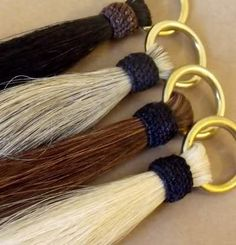 Horse Hair Shu Fly with a brass ring