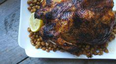 Harissa Honey Roast Chicken Recipe