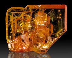 Wulfenite - Rowley Mine, Arizona