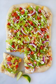 Transform your favorite taco flavors into the ultimate slice with a quick and easy recipe for cheesy chicken taco pizza.