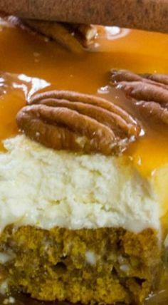 Pumpkin Poke Cake - Sweet and Savory Meals Thanksgiving Recipes, Fall Recipes, Sweet Recipes, Holiday Recipes, Poke Cakes, Cupcake Cakes, Cupcakes, Just Desserts, Dessert Recipes
