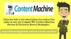 [WP Content Machine Review] Honest Review