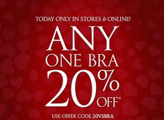 Get 20% OFF Victoria Secret's Coupon Code