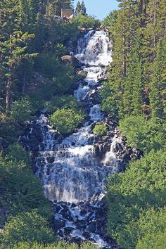 Twin Lakes Falls - Mammoth Lakes Basin, California Copyright:Ray Anderson