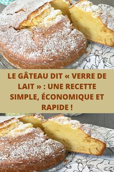 Le gâteau dit « verre de lait » : une recette simple, économique et rapide ! Jamie Oliver, Chocolate Desserts, Biscuits, French Toast, Muffins, Good Food, Dessert Recipes, Bread, Baking