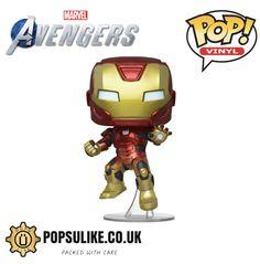 Iron Man Pop, Iron Man Stark, Marvel Avengers Games, Funko Pop Dolls, Pop Toys, Lamborghini Cars, Pop Vinyl Figures, Batman Comics, Disney Marvel