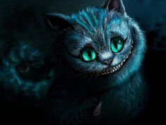 Gato de Cheshire_Alice in Wonderland