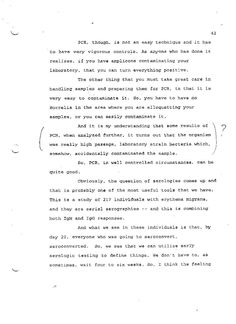Transcripts from tyhe 1994 FDA Meeting on Lyme Serology