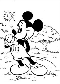 Mickey Mouse By Mrcbleck On Deviantart Cartoon